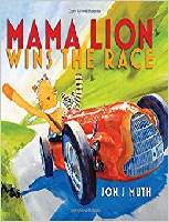 Mama Lion wins the race